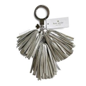 Kate Spade Palmer Drive Tassel Keychain